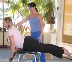 Gemmas Pilates and Movement Training:  Low Chair